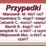 Lekcja polskiego – deklinacja