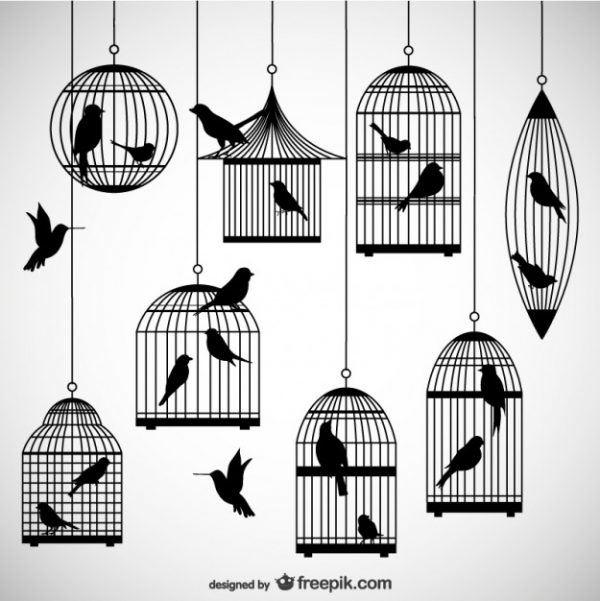 birdcages-silhouettes-pack_23-2147501427