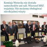 Komisja Wenecka w Sejmie