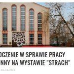 """""""Nóż w ….""""                                         czyli Wersal w Arsenale"""